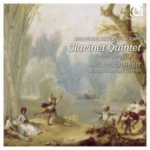 Mozart: Clarinet Quintet K581 & String Quartet K421