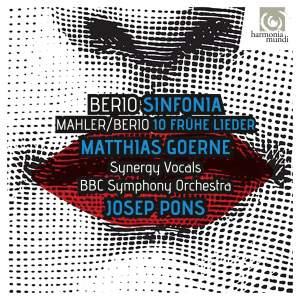 Berio: Sinfonia & Berio/Mahler: Frühe Lieder Product Image