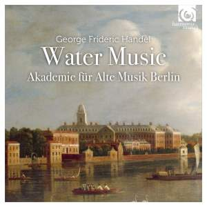 Handel: Water Music Suites Nos. 1-3, HWV348-350 Product Image