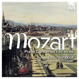 Mozart: Piano Concertos, K.413-15 Product Image