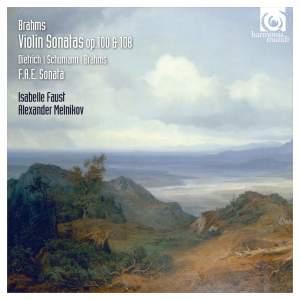 Brahms: Violin Sonatas Nos. 2 & 3