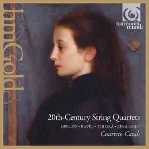 20th-Century String Quartets: Debussy, Ravel, Toldra & Zemlinsky