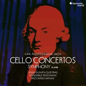 C.P.E. Bach: Cello Concertos Product Image