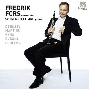 Frederik Fors & Sveinung Bjelland: Works for clarinet and piano