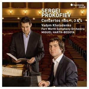 Prokofiev: Piano Concertos Nos.1, 3 & 4