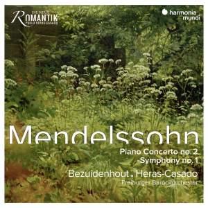 Mendelssohn: Piano Concerto No. 2 & Symphony No. 1 Product Image