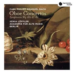 C.P.E. Bach: Oboe Concertos Product Image