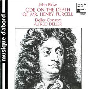Blow: Ode on the Death of Mr. Henry Purcell