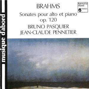 Brahms: Sonatas for Viola and Piano, Op.120