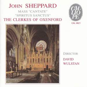 Sheppard: Mass Cantate - Spiritus Sanctus