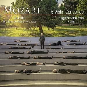 Mozart: 5 Violin Concertos