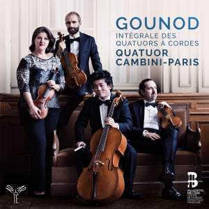 Gounod: Complete String Quartets Product Image