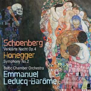 Schoenberg: Verklärte Nacht & Honegger: Symphony No. 2 Product Image