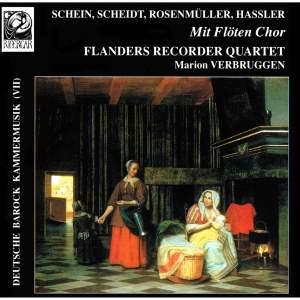 Deutsche Barock-Kammermusik VII: Mit Flöten Chor