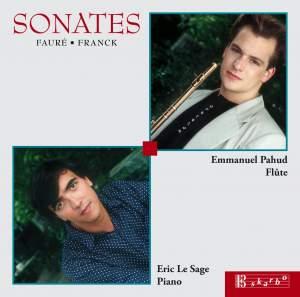 Fauré & Franck: Flute Sonatas