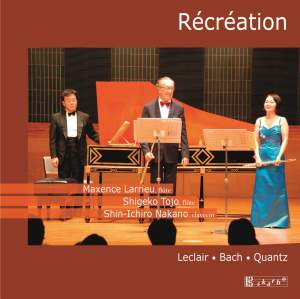 Leclair, Bach & Quants: Music for Two Flutes and Harpsichord