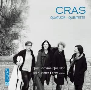 Cras: Piano Quintet & String Quartet Product Image