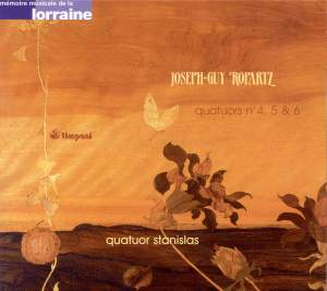 Ropartz: String Quartets 4-6