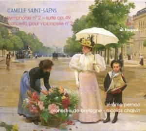 Saint-Saens: Symphony No. 2 / Cello Concerto No. 2 Product Image