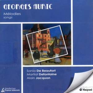 Georges Auric - Songs Product Image