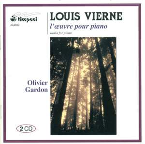 Vierne: Works for Piano Product Image