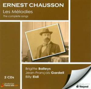 Chausson: Complete Songs Product Image