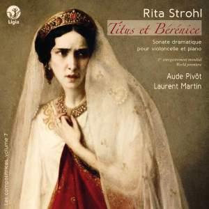 Strohl: Titus et Bérénice - Onslow: Sonate Op. 16 No. 2