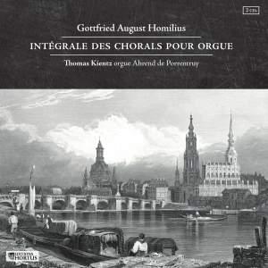 Homilius: Intégrale des Chorals pour Orgue