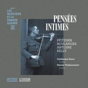 Pensées intimes (Les musiciens et la Grande Guerre, Vol. 12) Product Image