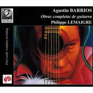 Barrios: Obras Completas de Guitarra
