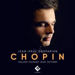 Chopin: 4 Ballades, Polonaise Heroique, Polonaise Fantaisie, Nocturnes, Waltzes
