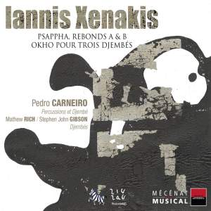 Xenakis: Psappha for percussion solo, etc.