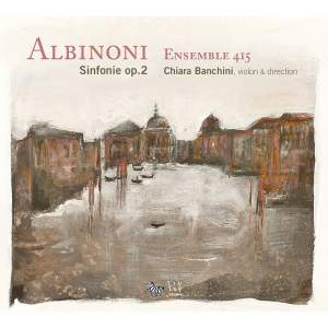 Albinoni: 6 Sinfonie a cinque, Op. 2 Product Image
