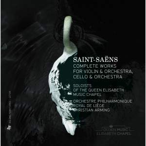 Saint-Saëns: Complete Works for Violin & Orchestra & Cello & Orchestra Product Image