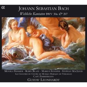 Bach - Secular Cantatas