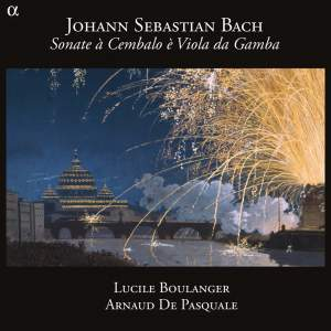 JS Bach: Sonata à Cembalo è Viola da gamba