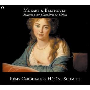 Mozart & Beethoven: Sonatas for pianoforte & violin