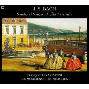JS Bach: Sonates & Solo Pour La Flute Traversiere