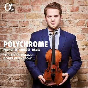 Polychrome: Violin Sonatas by Prokofiev, Ravel & Strauss Product Image
