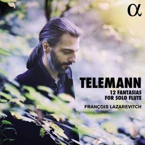 Telemann: Fantasias (12) for solo flute, TWV 40:2-13 Product Image
