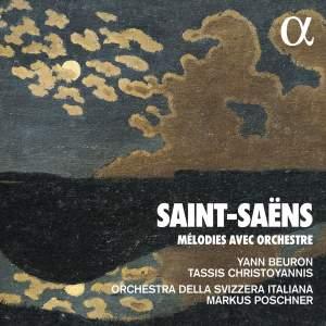 Saint-Saëns: Mélodies avec Orchestre
