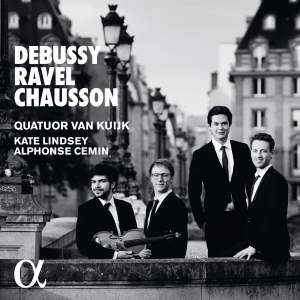 Ravel/Debussy: String Quartets & Chausson: Perpetuelle Product Image