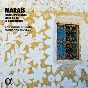 Marais: Folies d'Espagne, Suite en Mi and Le Labyrinthe Product Image