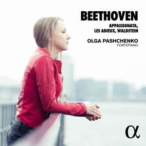 Beethoven: Appassionata, Les Adieux & Waldstein Product Image