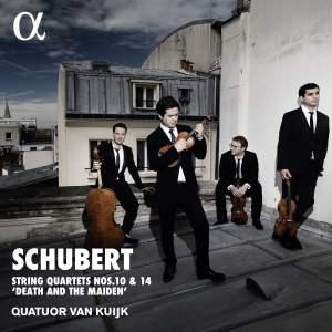 Schubert: String Quartets Nos. 10 & 14 Product Image