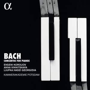 JS Bach: Concertos for Pianos