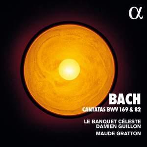 JS Bach: Cantatas BWV 169 & 82 Product Image