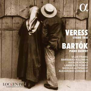 Veress: String Trio & Bartók: Piano Quintet Product Image