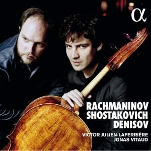 Shostakovich, Rachmaninoff, Denissov: Cello Sonatas Product Image