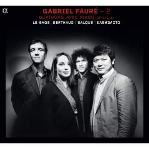 Fauré: Piano Quartets Volume 2 Product Image